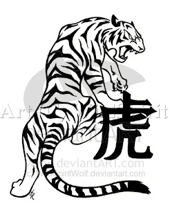 Mytattoos Tribal Chinese Tiger Art Design For Body
