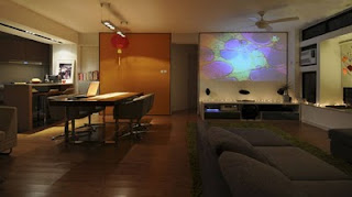 Matsuki Modern Apartment Interior livingroom Design