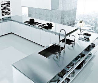 Modern Metalic KItchen Design Idean for Your Home