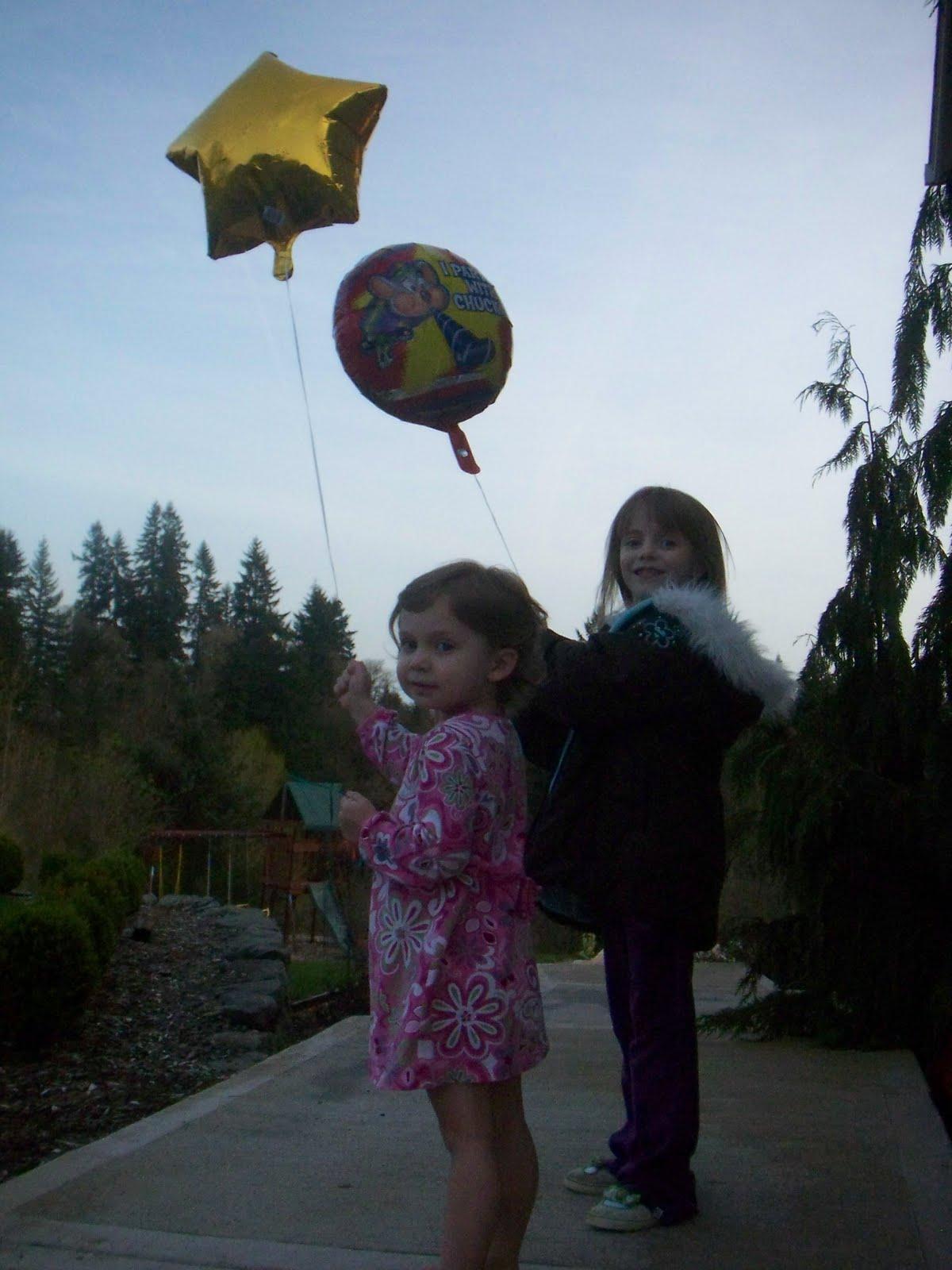 Releasing Balloons Long Beach Ca