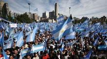 Banderazo en Rosario