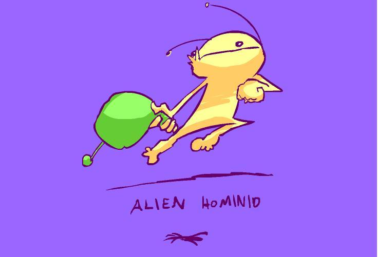 Best Game Wallpaper Flash Game Alien Hominid