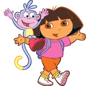 Cartoon Clipart Dora The Explorer Clipart