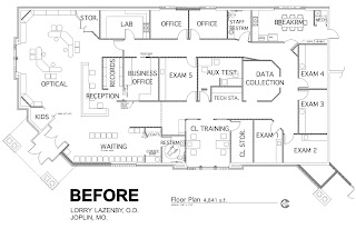 optometric office design ideas taking an optical floor plan from