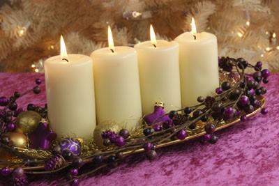 ideas para navidad centros de mesa