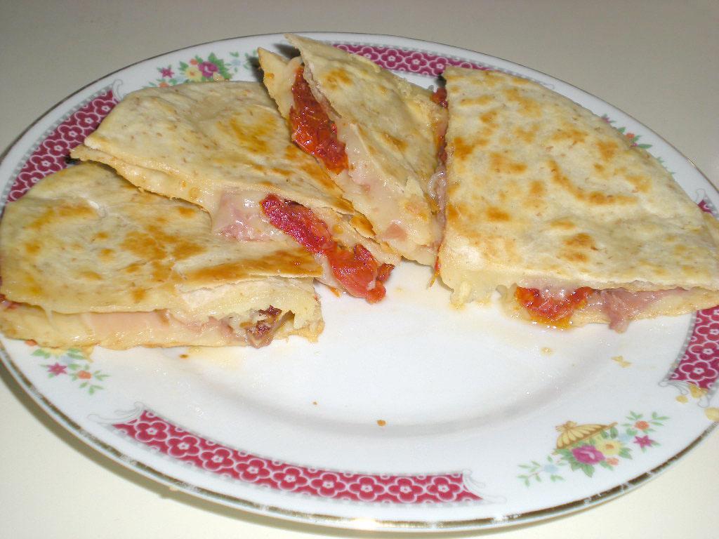 Simple-to-Make Mediterranean Quesadillas