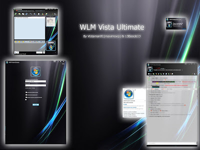 Vista Ultimate Skin For Windows Live Messenger 8.5