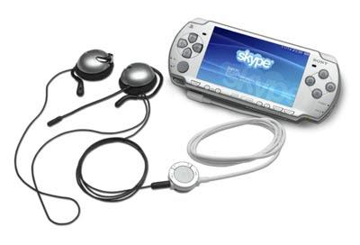 Skype Headset For Sony PSP