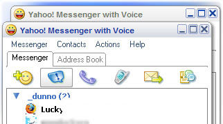 Google Talk Skin for Yahoo Messenger