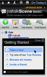 PalTalk Screening Rooms