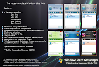 Windows Aero Messenger