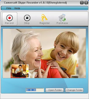 Camersoft Skype Recorder Screenshot