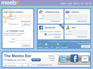 Meebo Screenshot