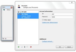 Freo - Multi-protocol Instant Messenger for AIM, ICQ, IRC, MSN and Jabber