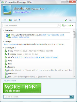 windows live msn 9
