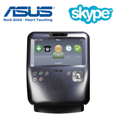 Asus Launched First Video Skype Phone