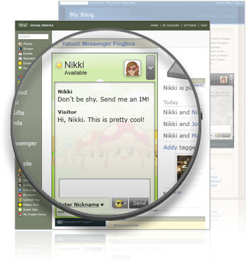 Yahoo! Messenger Pingbox