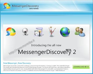 Download Download Messenger Discovery 2 Beta for WLM 8.5 and 2009