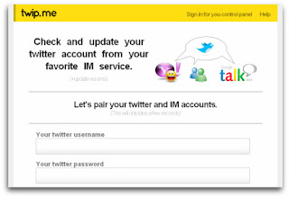 Twip.me - Use Twitter on Yahoo, WLM and GTalk