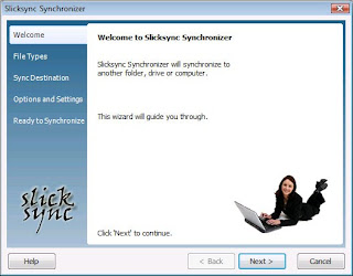 Slicksync AIM Synchronizer Pro Screenshot