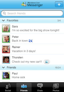 Windows Live Messenger for iPhone and iPod Touch Now Available for Download