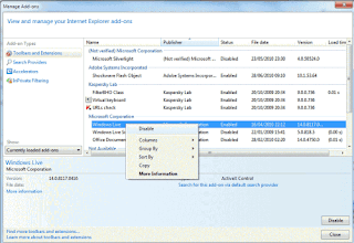 How to Speed Up Hotmail By Disabling Windows Live Messenger Autoload