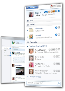 Trillian 5 for Windows Screenshot