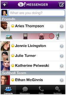 Yahoo! Messenger App for iPhone 2.0