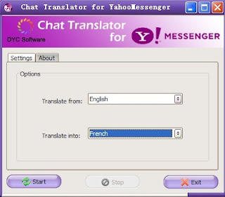 Chat Translator for Yahoo! Messenger
