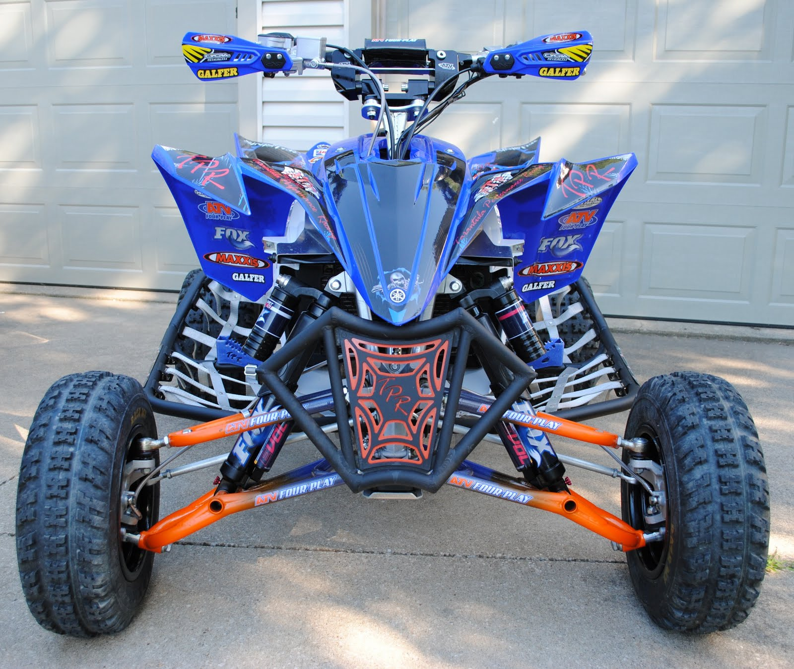 Carbon ATV Handguards 7//8 Bar Compatible with Yamaha YFZ 450 450R MODIFICATION REQUIRED