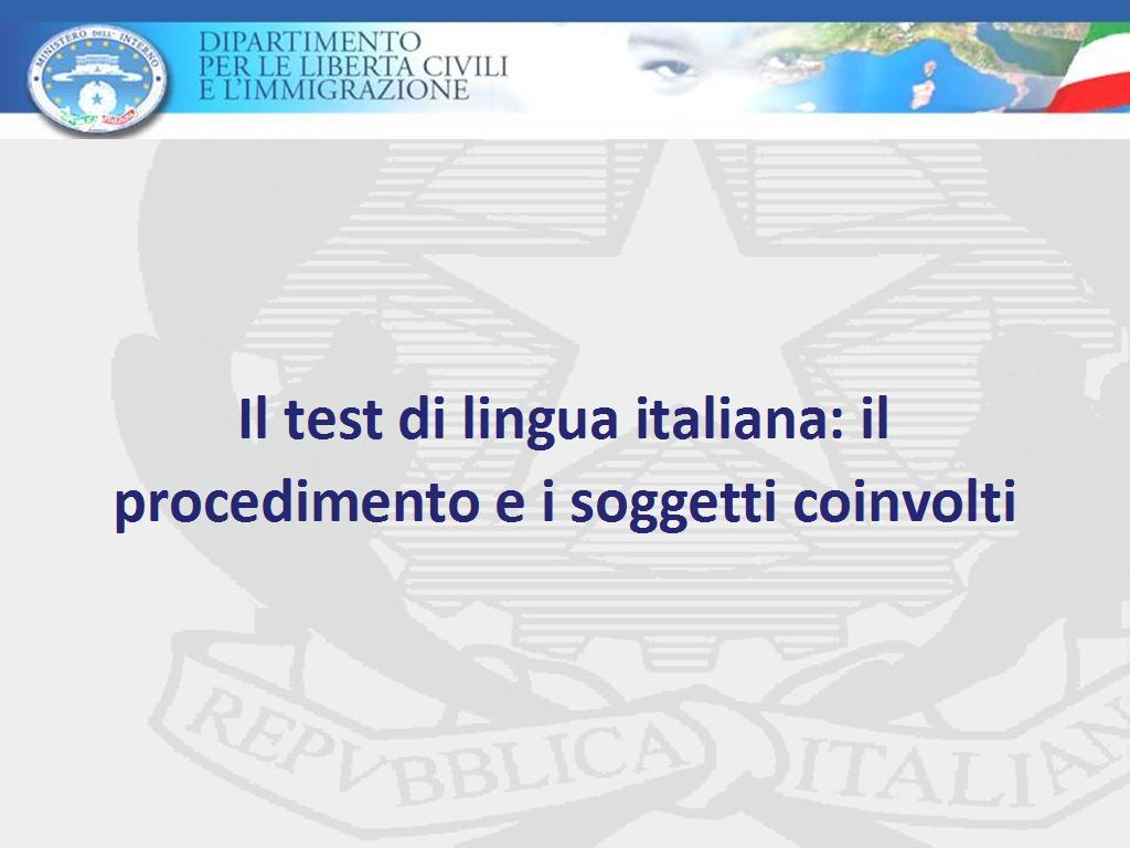 Valigie di cartone for Test italiano per carta di soggiorno 2016