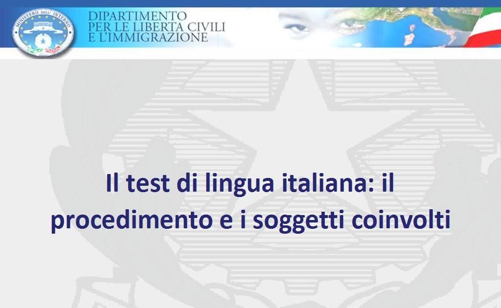 testitaliano interno - 28 images - 实用 教你怎么在网上预约长期居留 ...