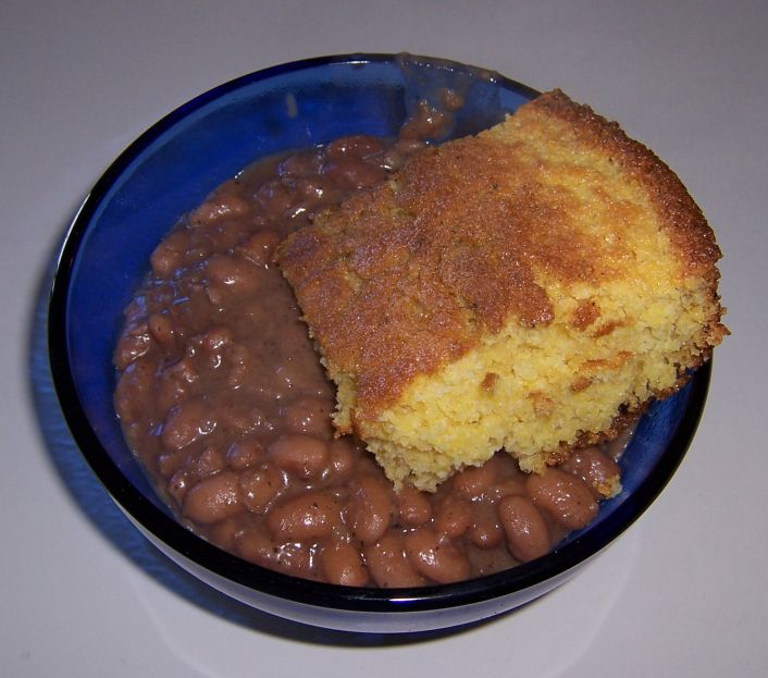 jobsanger: Beans And Cornbread ! Yum !