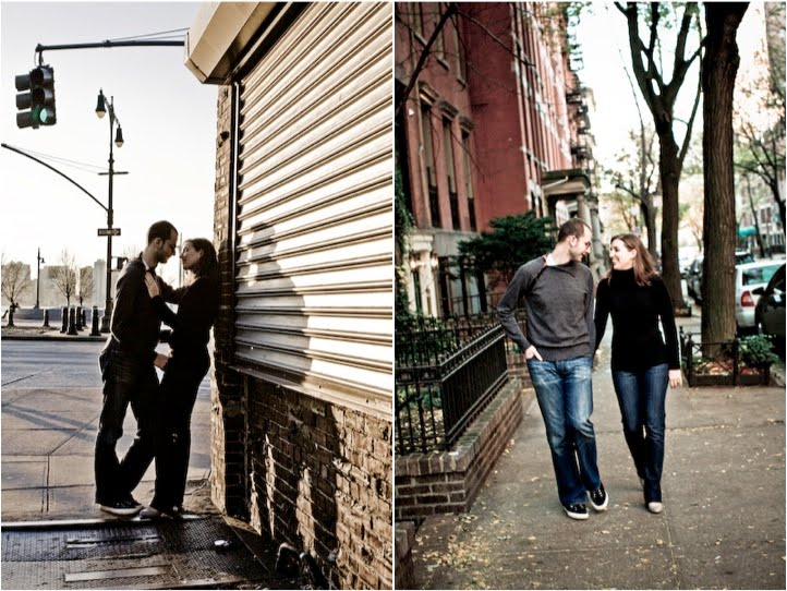 NYC Engagement Session | Amy + Tom
