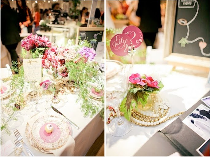 Tablescape Trends for Spring | New York Magazine Wedding Event