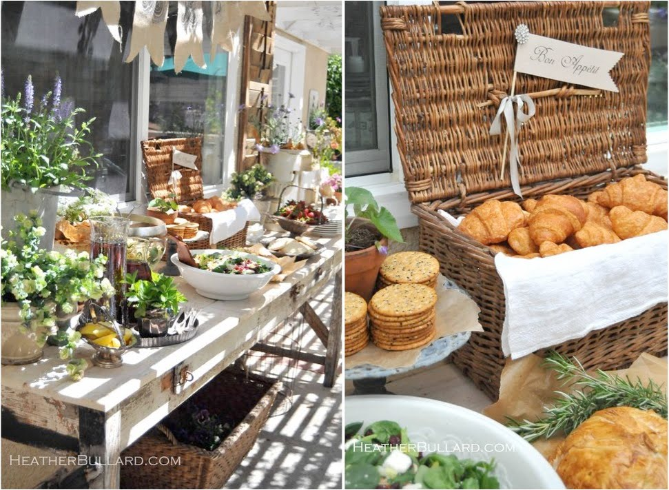 Bridal Shower Inspiration With Heather Bullard Merci New