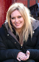 Hilary Duff on the Set of SVU