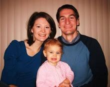 Brad, Traci and Elena Hansen