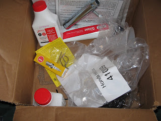 a box of handy extra bits