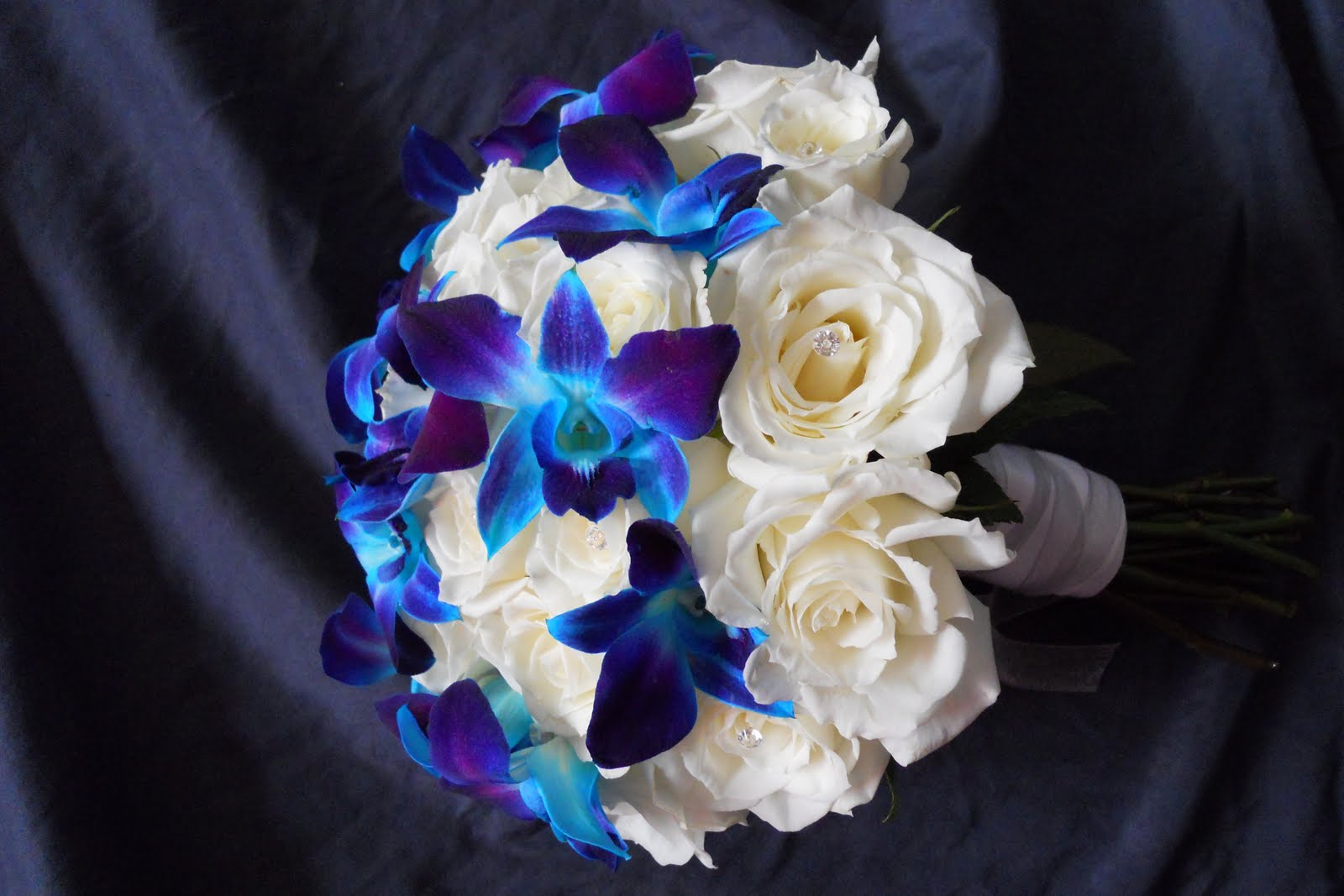 Efflorescence Purple and Blue Wedding