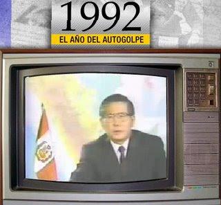 el marco de la constitucion del 93 fue el autogolpe del 92