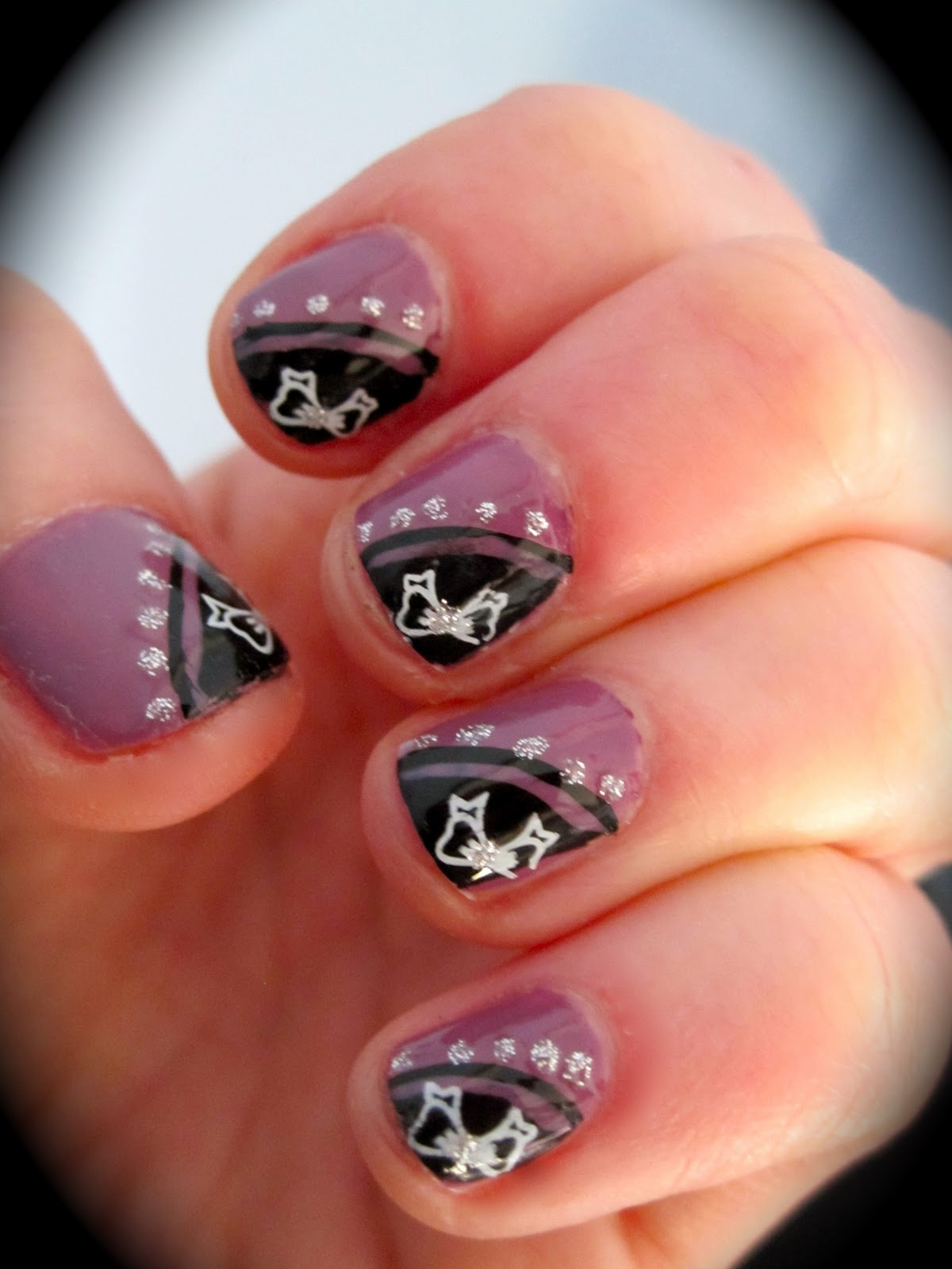 The Glamorous Fake hello kitty nails designs Images