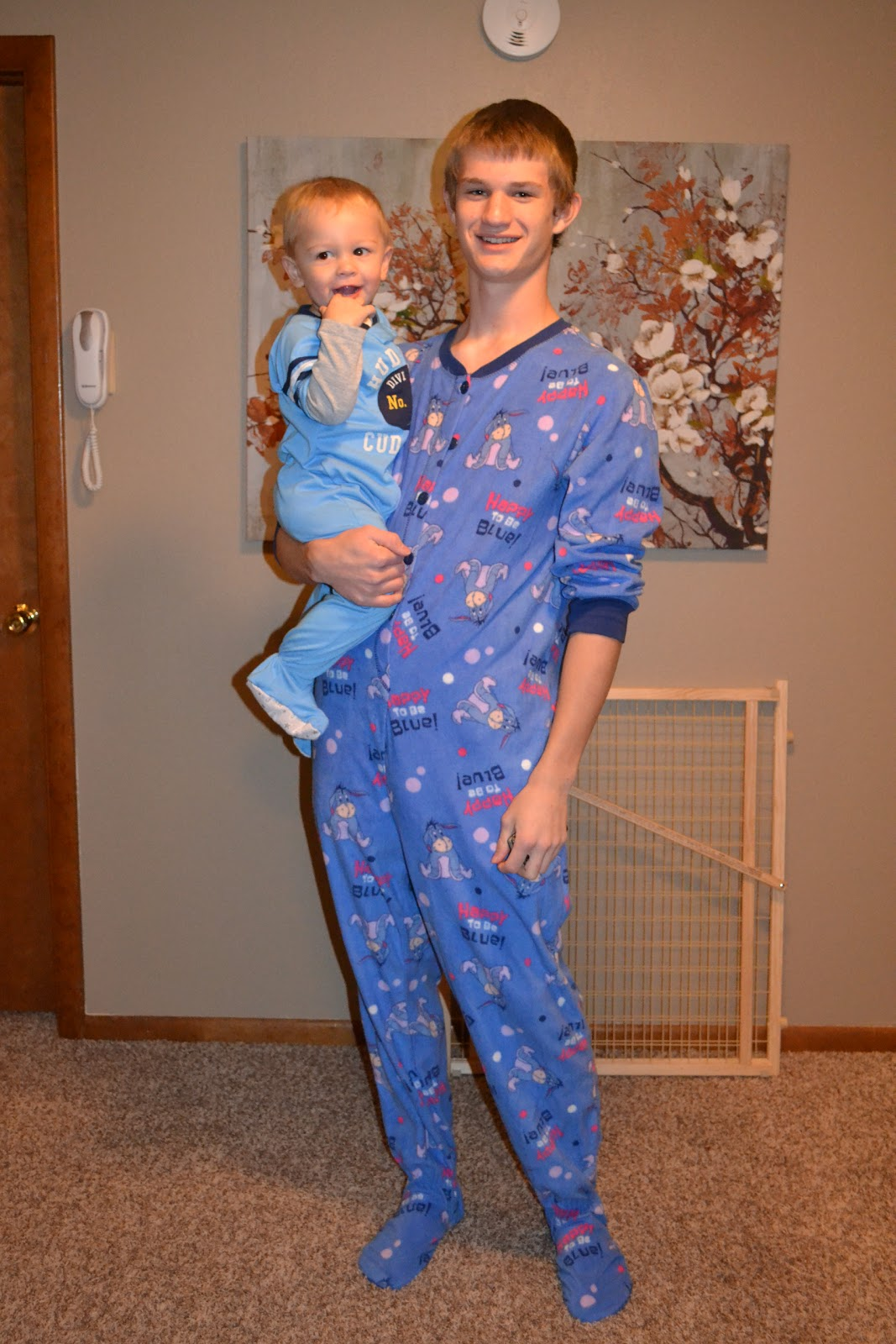 Family Footed Pajamas Christmas