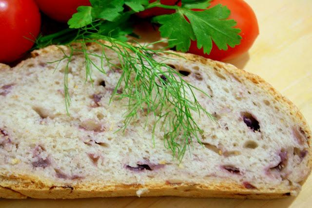 Ароматный домашний хлеб с красным луком Форум об Италии Ароматный домашний хлеб с красным луком