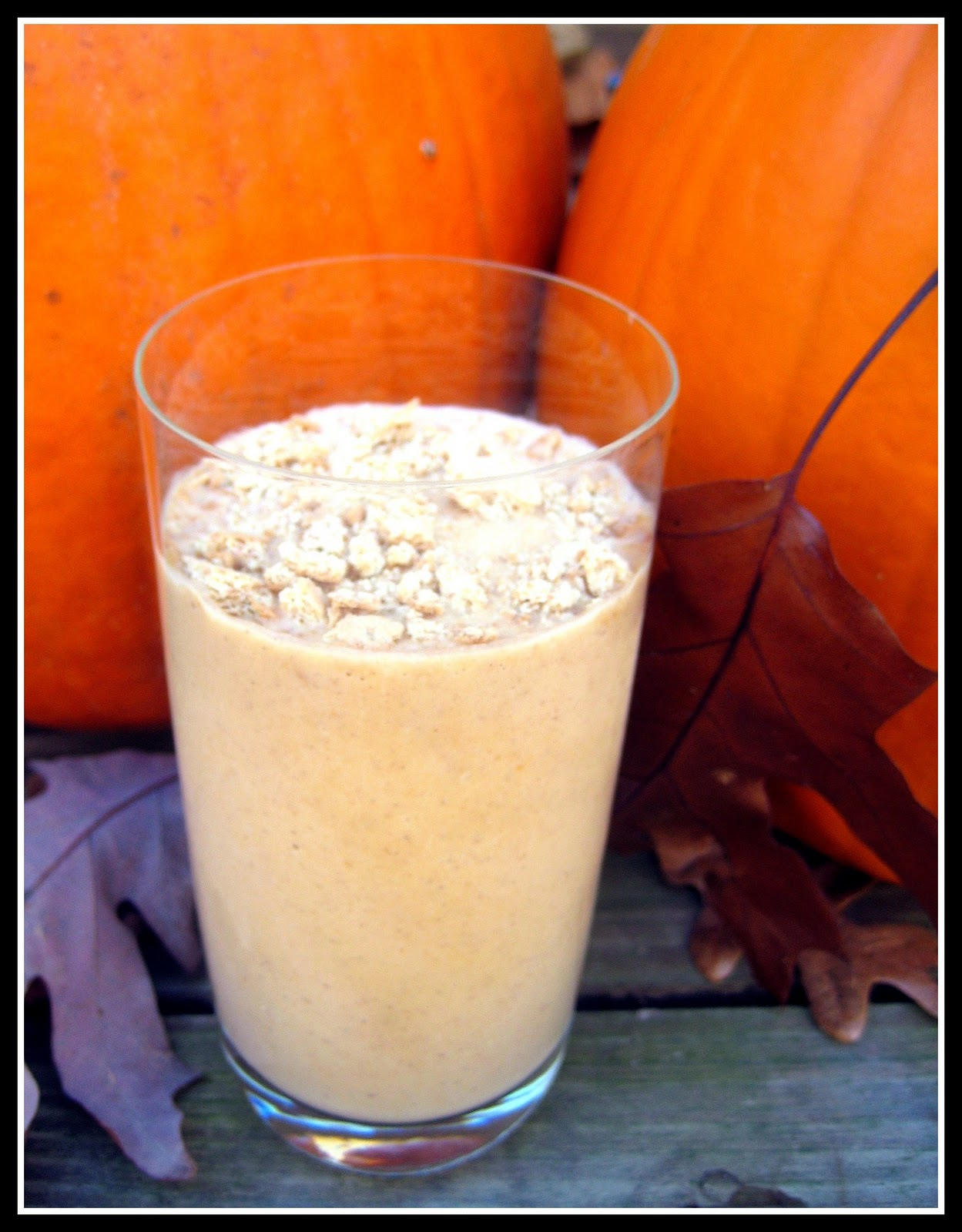 Wingledings: Lightened-Up Pumpkin Pie Milkshake