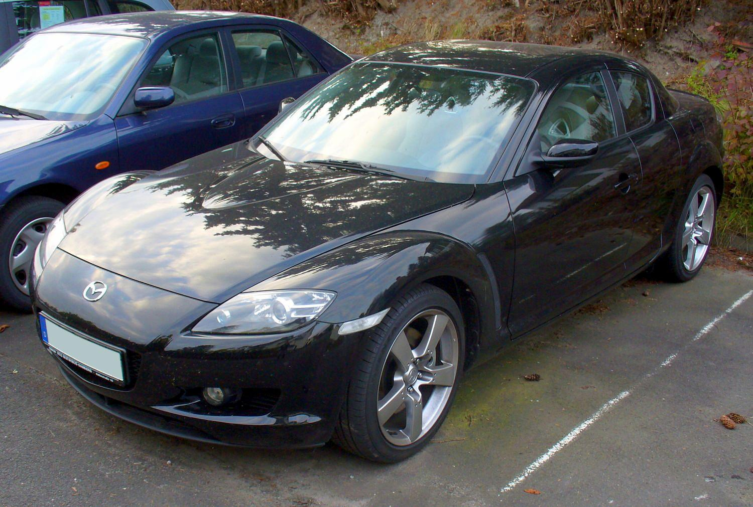 Mazda Rx8 Blacked Out^@# - 230.3KB