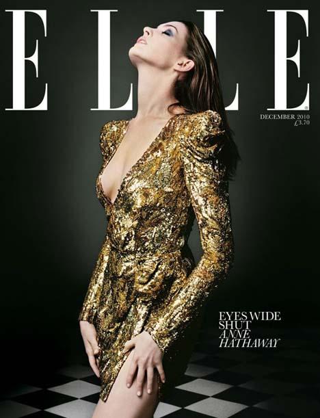 Vogue Anne Hathaway 2010. Anne Hathaway for Elle UK