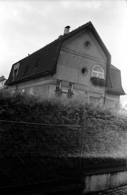 Prague - Strange house in Radotin