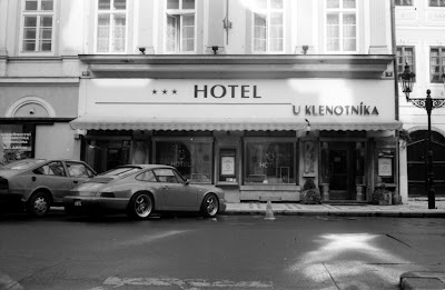 Prague - Porsche 911 and Hotel U Klenotnika