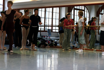 Masterclasses of Daria Klimentova in Prague